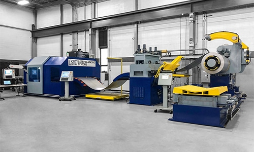 Laser Blanking Lines - RDI Laser Blanking Systems